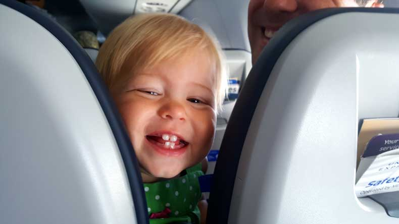 7 Tips for Flying with a Toddler